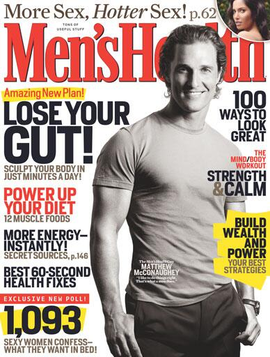 Congrats to former Men's Health cover guy Matthew McConaughey on his first Oscar nomination! http://t.co/8kq29eALnq