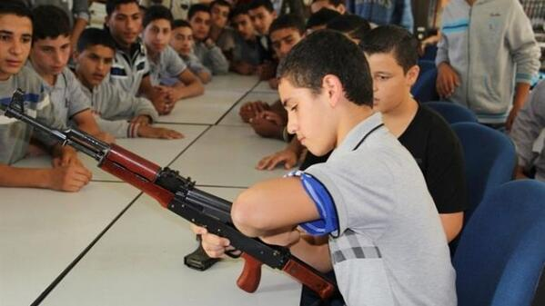 13,000 teens in Gaza graduate Hamas training camp AND you wonder why there's no peace? http://t.co/KKVcBLFKhh http://t.co/Kwg1si1RCB
