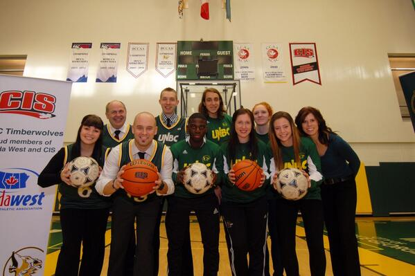#UNBC T-Wolves receive largest single corporate donation ever from @integris_cu #GoTwolves! http://t.co/HfghNSEeNB http://t.co/NEFX6eVyaS