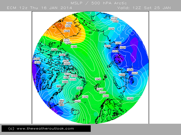 ECM12z +9 days polar view **IF** it verifies could lead to a significant UK freeze in Feb.  http://t.co/MmKPcVbHXh http://t.co/JvoMKlIdj5