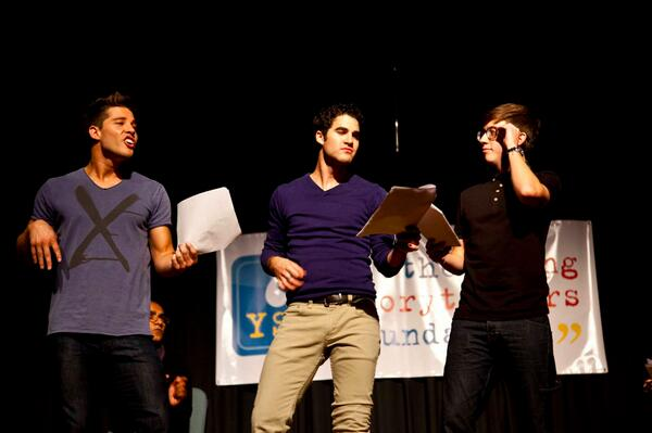 Dean Geyer, Darren Criss, & Kevin McHale as The Beatles at the 2012 Glee Biggest Show! #throwbackthursday http://t.co/nGsJMZcSS0