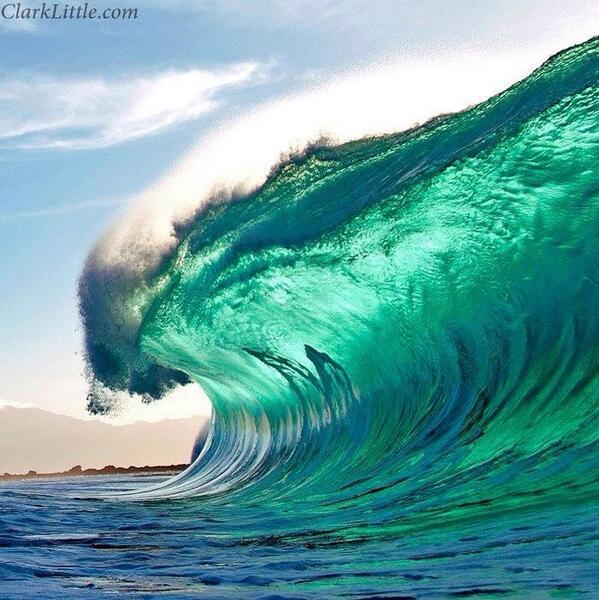 The magic wave #photography of Clark Little - Hawaiian Photographer http://t.co/00oIwlKkaG