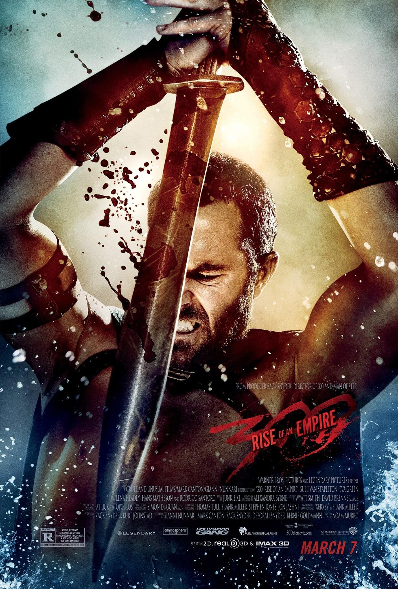 """Еще один постер к фильму """"300 спартанцев: Расцвет империи"""" http://t.co/YrruHSik6b"""
