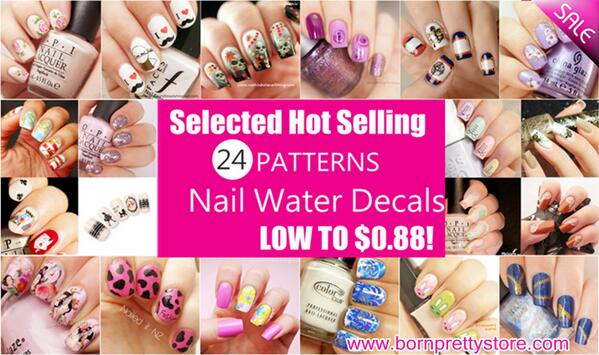 #giveaway FOLLOW&RT&INVITE 3 FREINDS, TO WIN WHOLE SET 24 ITEMS! $0.88 #NAILART Decals:http://t.co/8COyWAis4z http://t.co/RH3vwXm87H