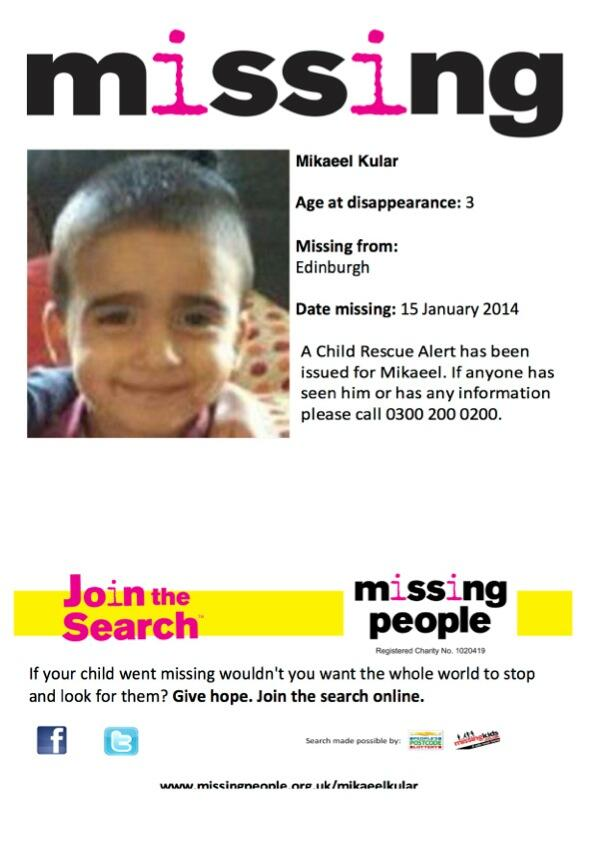 Poster about missing Mikaeel Kular. Please share http://t.co/ad6NPigbk3
