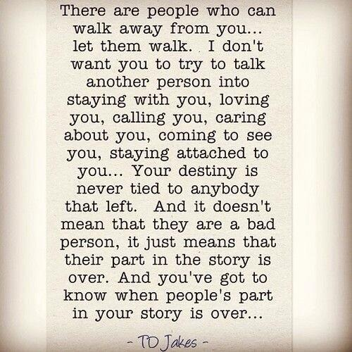 If you ever wonder whether it's time to walk away from someone in your life, here's the answer.... http://t.co/d9XsVEZy1i