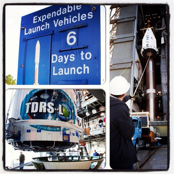 Launch teams in readiness review for TDRS-L today following successful rehearsal countdown Thursday. http://t.co/cCWkT430Vc