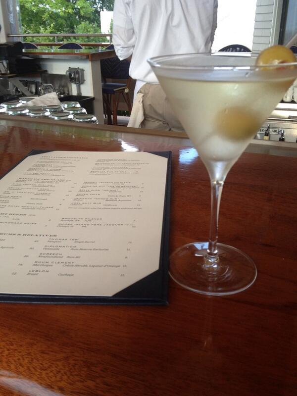 I ❤ dirty martinis and this #tasty one was made at the gorge @CastleHillInn in #newportRI #FriFotos @mrsoaroundworld http://t.co/mrEaQbJ9yB