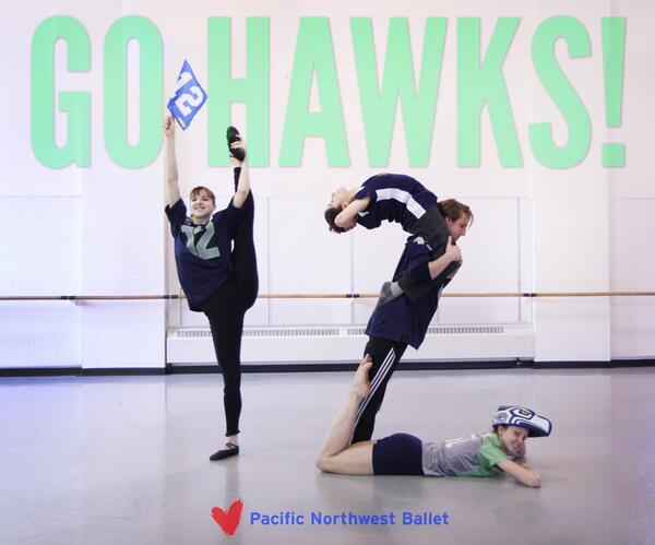 Putting our own SPIN on the #12thMan #TGIBF @Seahawks http://t.co/WtvMo15VDc
