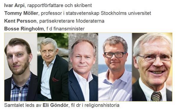 """Timbro anordnar seminariet """"Vem representerar Sveriges muslimska väljare"""" med följande panel. Är det ett skämt? http://t.co/xeNqYJH7Qv"""