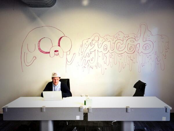 Welcome to @fat's office, take a number. http://t.co/J1UQ1CZoXD