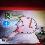 RT @Liteshnayaka: @priyamani6 An amazing picture depicting our modern lives.