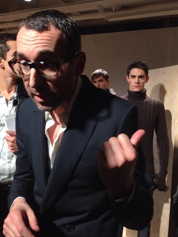 #Berluti Creative Director, the Italian Alessandro Sartori Explains his collection after the show http://t.co/73fBBEtj7j