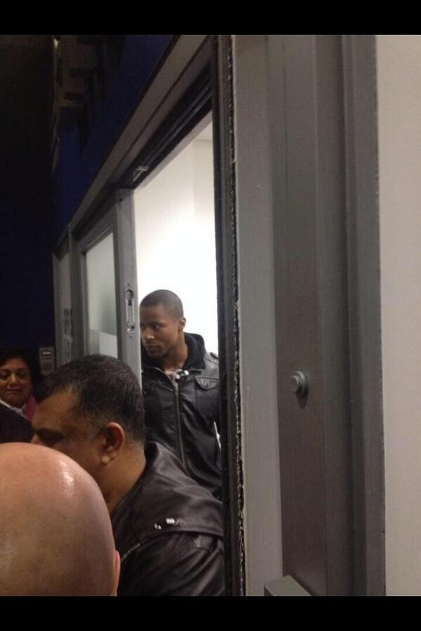 BeSDs uIgAAoM0Z So hes not going to Arsenal then? Auxerre striker Paul Georges Ntep spotted at QPR on Saturday [Pictures]