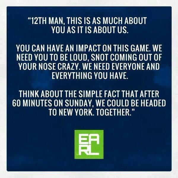A message from #Seahawks safety @Earl_Thomas for the 12th Man... http://t.co/a7NijkbPFn