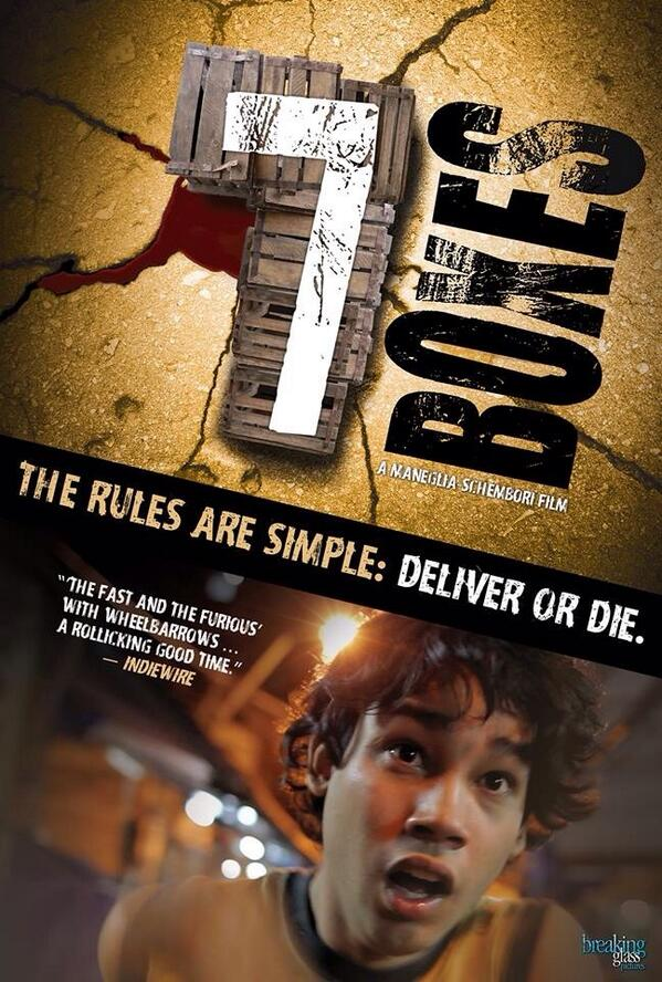 Afiche de #7Cajas en EEUU; Deliver or Die http://t.co/n6e5yCcQiA