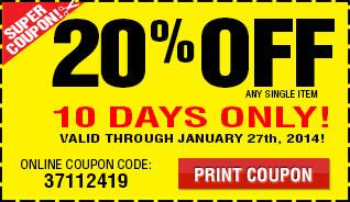 Don't go to @HarborFreight without your 20% Off #coupon! Good through Monday, January 27. http://t.co/0WV9bSgHzI http://t.co/OQ9giEkF48