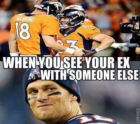 #Patriots #Broncos #Brady be like.. #NEvsDEN #NFLPlayoffs http://t.co/Iag0QQjVgk