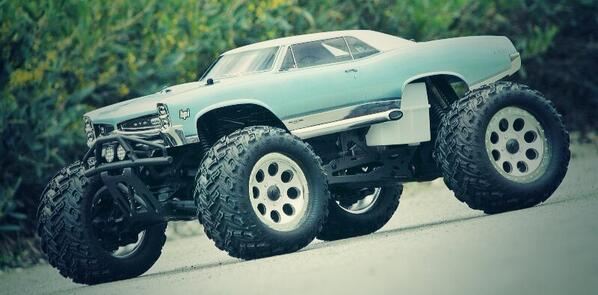 HPI 1967 Pontiac GTO Monster Truck body (#17000) #hpiracing #savagesunday #pontiac #gto #savage #hpi #monstertruck http://t.co/YLYPb0HgaM