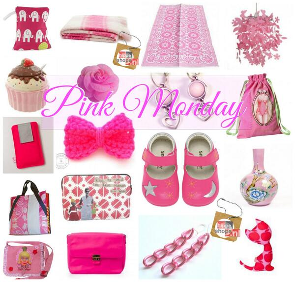 No #BlueMonday Bij @HippeShops is het vandaag PINK Monday, the most Happy Day of the Year! http://t.co/TXHGfIt9oH