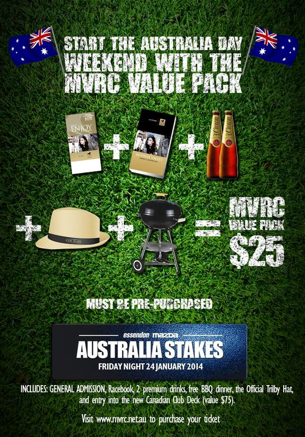 RETWEET to win one of 5 double $25 MVRC Value Packs! Simply RETWEET this post to win. Winners announced 3pm tomorrow. http://t.co/5GmsT0JDHh