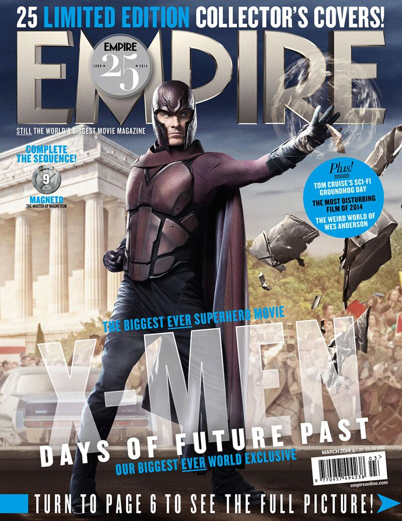 RT @IanMcKellen: Here's a fresh look at past Magneto, played by my co-star Michael Fassbender. #Empire25 http://t.co/SyeuBRL8nZ