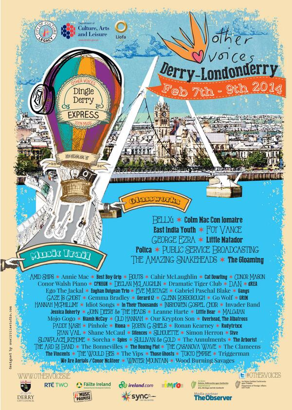 Retweet the poster below to win two Saturday night tickets to #othervoices #legenderry. http://t.co/fCNoZVcITY
