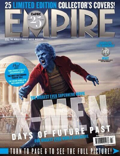 RT @20thCFoxID: Time to unleash Beast. @NicholasHoult returns in #XMen: Days of Future Past as Hank McCoy! #Empire25 http://t.co/fmn8KT8DoN