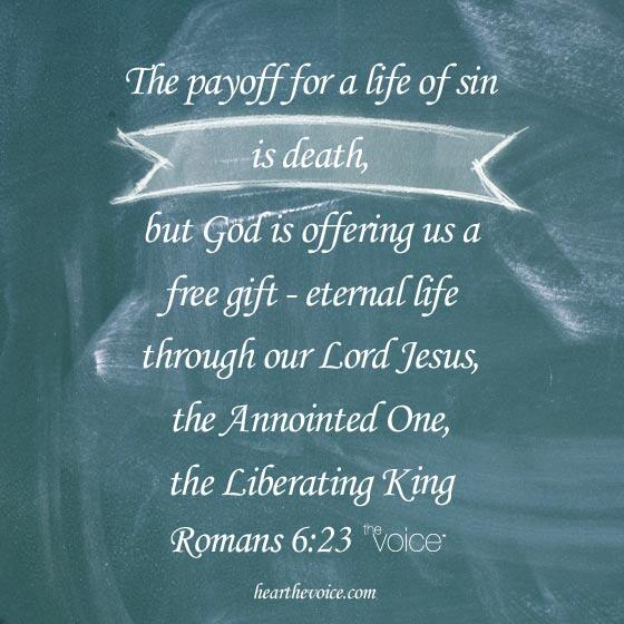 Have you accepted God's free gift through Jesus? #eternallife http://t.co/pZPilGPKuX