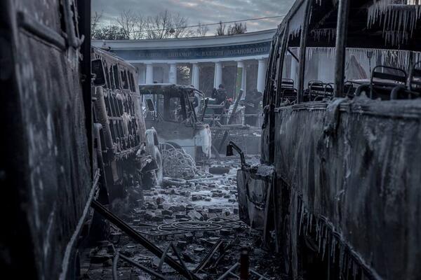 Ранок на Грушевського #Євромайдан http://t.co/5eIyTk4Oas