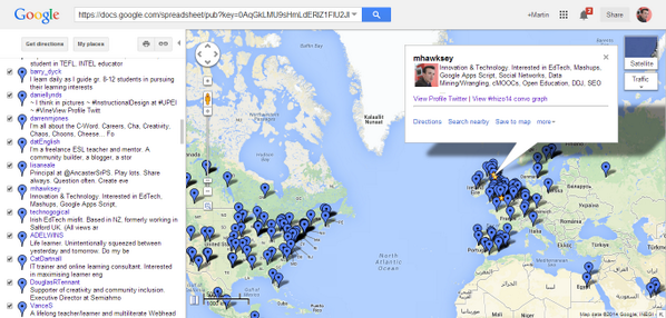 In case you missed it 'Making a Twitter Hashtag Contributor Map using TAGS' http://t.co/RiRIVw12Jm http://t.co/H4ybdaU1Mg