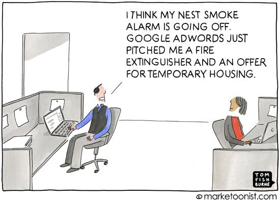 """Internet of Things"" - new cartoon and post on the future of #marketing http://t.co/pxPVTxISK8 http://t.co/Fqq7Iakdgl"