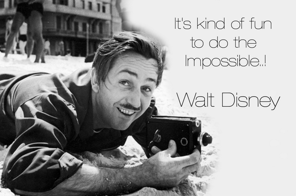 It's kind of fun to do the Impossible..! - Walt Disney http://t.co/X4q2NmPBtp