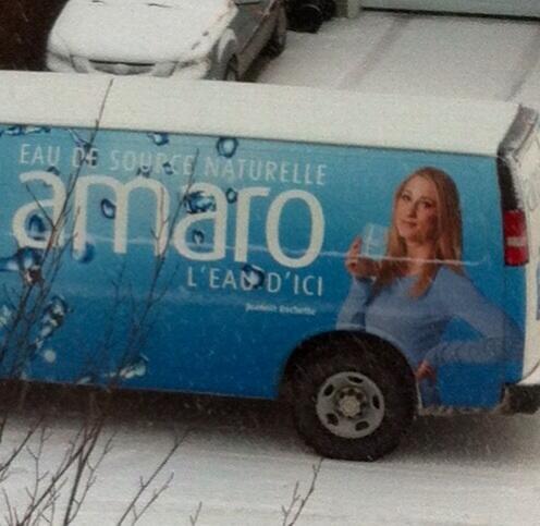 Joannie Rochette qui est enceinte .... D'un pneu #Illusion #Amaro http://t.co/ZjQFeaikEE