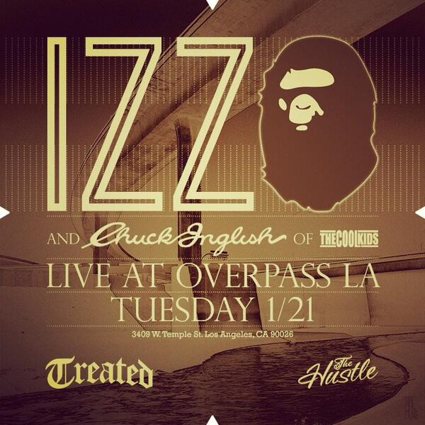 LA.. Catch me and my good buddy @Chuckisdope at the overpass tomorrow night!   #TreatedCrew http://t.co/o6ul5SAFX2