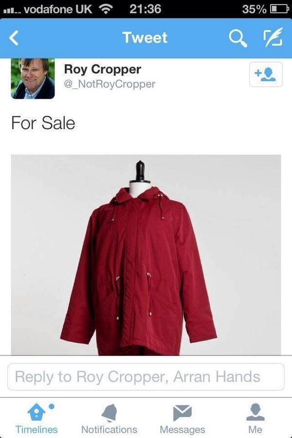 Roy Cropper has some bargains on eBay http://t.co/4yNmWltjzV