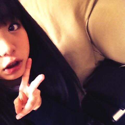 メイクして、顔の準備完了 #hirona #9nine http://t.co/rQSWad8vCI