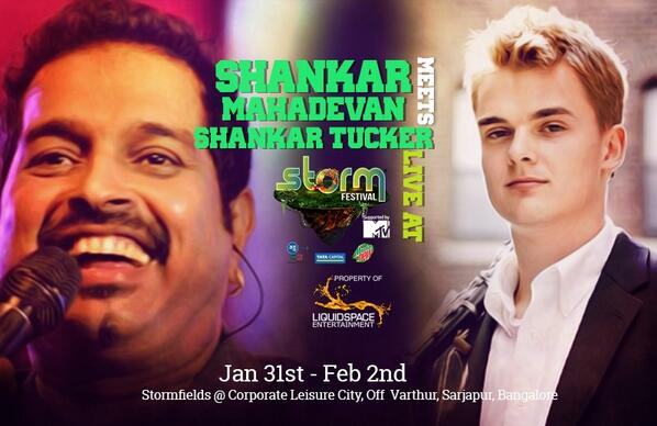 Here's the poster for the show w @Shankar_Live! Hope to see all you Bangalore peeps there! http://t.co/ILg58zZrXc