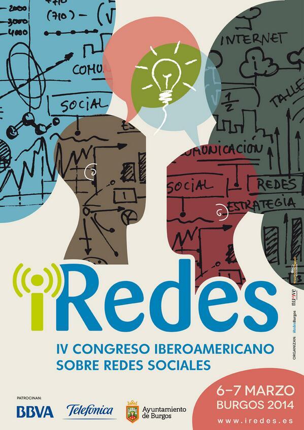 #iRedes será el 6 y 7 de marzo! Ya hemos abierto  las inscripciones y colgado el cartel http://t.co/j5MvSBltwa http://t.co/1P9EUK33Hl
