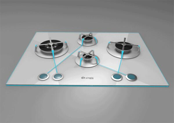 Read how Caner Aras' Eclipse Gas Cooktop makes it easy to navigate from knob to burner @http://buff.ly/1js8tot http://t.co/DVd1P8N2xC