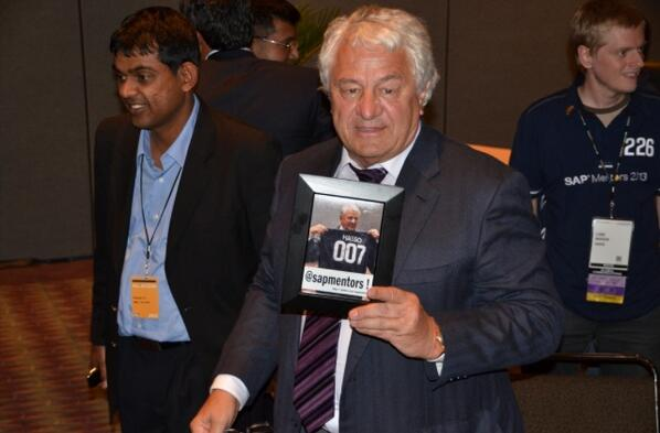 Join us in wishing Dr Prof Hasso Plattner a very HAPPY BDAY in this fine day! Keep up the inspiration & innovation! http://t.co/ubwUSkBO66