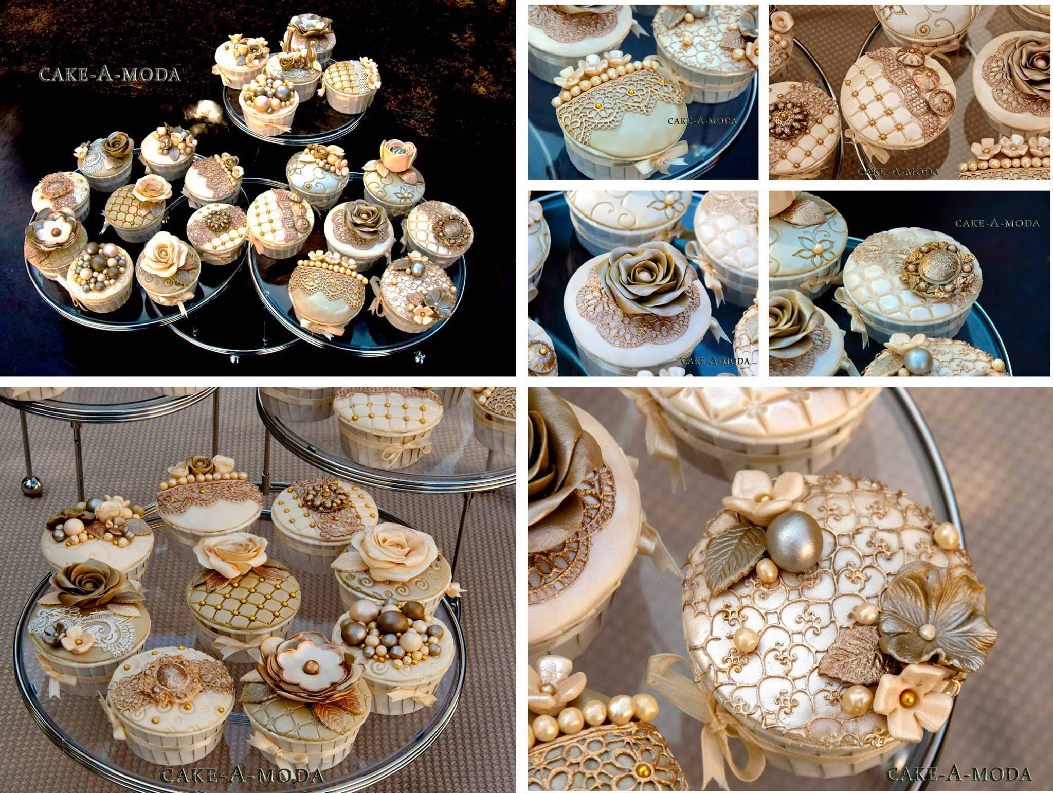 Thanks to Cake A Moda for sharing these stunning cupcakes made for an engagement party. Beautiful! http://t.co/PNZ3oRdUkO
