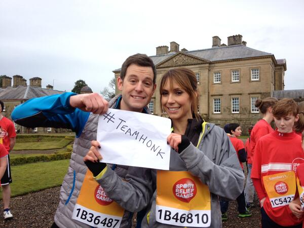 Look who's getting behind #teamhonk for #sportrelief http://t.co/AaGN1fryZH