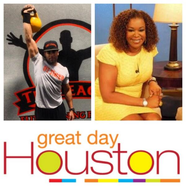 Catch me on TV tomorrow! #GreatDayHouston airs live at 9am in Houston, streams globally at http://t.co/9MOMrbple0. http://t.co/wQjJNqvFa9