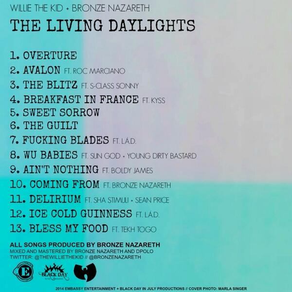 #TheLivingDaylights Available 2/11/14 Pre-Order on iTunes now !!! http://t.co/jSIotmL23V http://t.co/yeNVugto4b