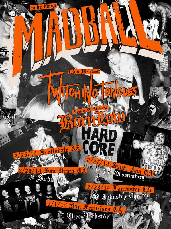 New Madball West Coast dates! http://t.co/UrZANUZj4a http://t.co/mCkmRy0prp