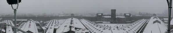 Panoramic shot of the snow at Eastern State Penitentiary: http://t.co/BKl66jv7FJ