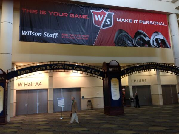 @WilsonGolf come see us at PGA show rm 202B #PGAShow http://t.co/oK8x62KVAw