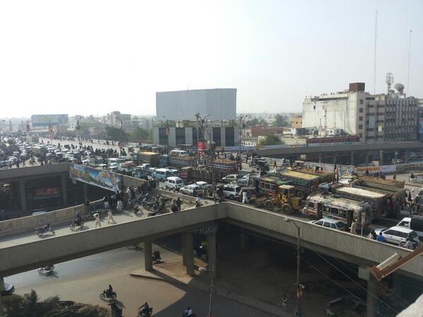 """""""@ammaryasir: Baloch Colony as we tweet http://t.co/ipxzbONdJu via: @ButoolH  #Karachi"""" crazy"""