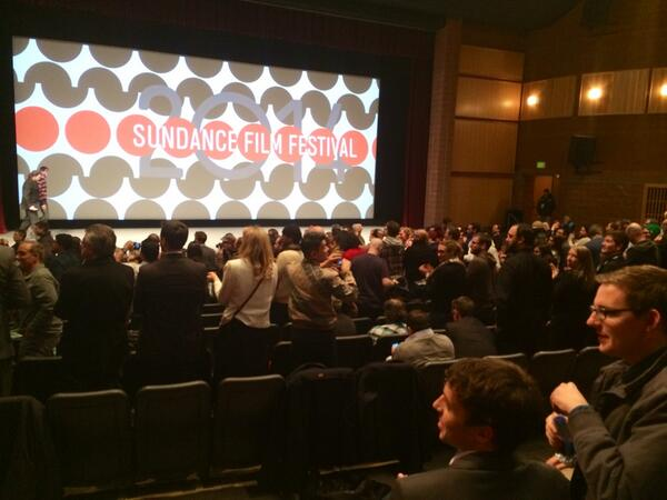 Standing ovation at the end of The Raid 2 - with the half of the theater that didn't leave. #sundance http://t.co/4MYmKtPp1O